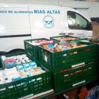 Recogida de alimentos Ferrol