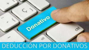 Deducción por donativos