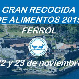 Gran Recogida de Alimentos Ferrol 2019