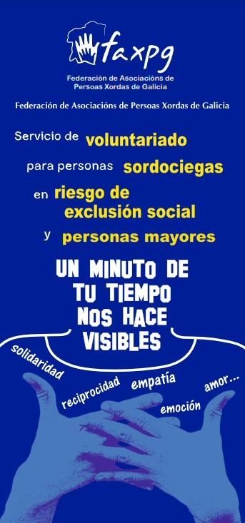 Voluntariado de personas sordas en Galicia