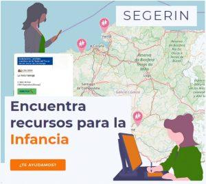Mapa Recursos Infancia Galicia | A Coruña, Lugo, Ourense, Pontevedra